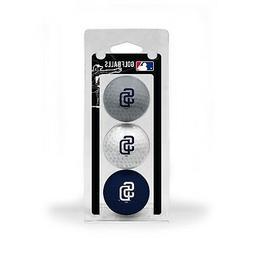 MLB San Diego Padres Regulation Golf Balls 3 Pack Sleeve Put