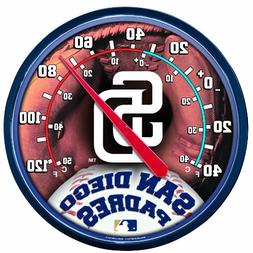 MLB San Diego Padres Thermometer