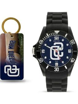 MLB San Diego Padres Watch/Keyring Set by Rico Industries