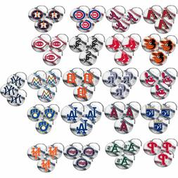 New 3pcs Licensed MLB Baseball All Teams Logos Air Freshener