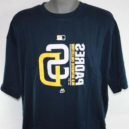 NEW Mens Majestic MLB San Diego Padres Authentic Collection