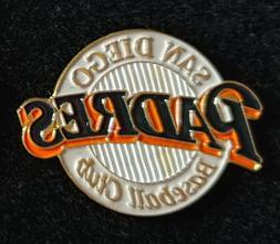 new san diego padres lapel logo pin
