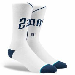 "New with tags Stance Socks MLB Jersey ""Padres Home"" San Dieg"