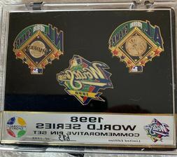 New York Yankees San Diego Padres 1998 World Series Limited