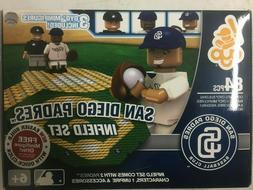 OYO Sports MLB San Diego Padres Infield Set 84 Piece Brand N