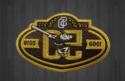 Padres 50th Anniversary Patch 2019 San Diego Baseball BROWN