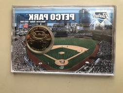 petco park coin card b1323 made by