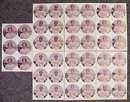 RARE! 1974 SAN DIEGO PADRES McDONALD'S BASEBALL DISCS 7 UNCU