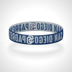 reversible san diego padres bracelet wristband friar