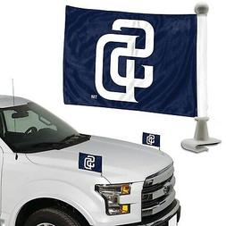 San Diego Padres 2-Pack Ambassador Style Auto Flag Car Banne