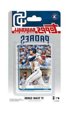 San Diego Padres 2019 Topps Factory Sealed Team Set Wil Myer