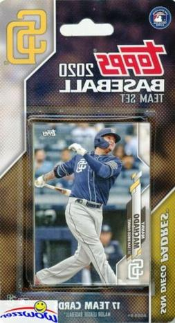 San Diego Padres 2020 Topps Limited Edition 17 Card Team Set