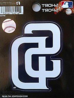 """San Diego Padres 3"""" Vinyl Sport Die Cut Decal Bumper Sticker"""
