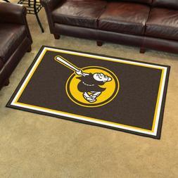 San Diego Padres 4' X 6' Decorative Ultra Plush Carpet Area