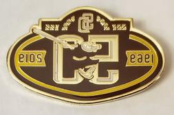San Diego Padres 50th Anniversary BROWN & YELLOW LOGO LAPEL