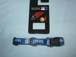 "SAN DIEGO PADRES  9"" - 14"" long DOG/PET COLLAR size Small 5/"