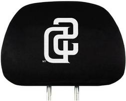 San Diego Padres Auto Headrest Covers 2 Pack  MLB Car Seat H