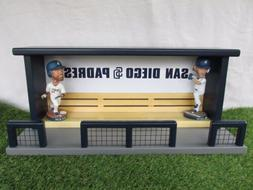 San Diego Padres Baseball Bobblehead Dugout Display Case Ben