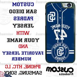 SAN DIEGO PADRES BASEBALL CUSTOMIZED PHONE CASE FITS iPHONE
