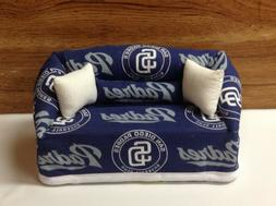 San Diego Padres Baseball Sofa Couch Tissue Box Cover With L