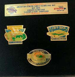 San Diego Padres Cable Sports Network Collectible Stadiums P