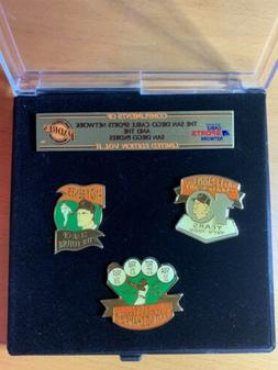 San Diego Padres Cable Sports Network Collectible Pins Vol.l