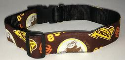 San Diego Padres COLLAR Dog Large Pet Pro Football Fan Team
