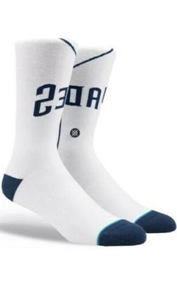 San Diego Padres Cooperstown Stance Home Jersey Crew Socks S