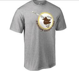 San Diego Padres Cooperstown T-Shirt Adult Medium MLB Baseba