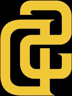 San Diego Padres Decal Sticker Logo Yellow,Brown,White,Orang