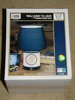 SAN DIEGO PADRES - DUAL LIT TABLE LAMP