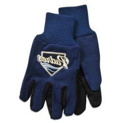 San Diego Padres Gloves Non Slip Work Utility Adult MLB Base
