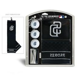 San Diego Padres Golf Gift Set with Embroidered Towel