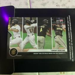 San Diego Padres Grand Slam Record 4 Straight Games Topps No
