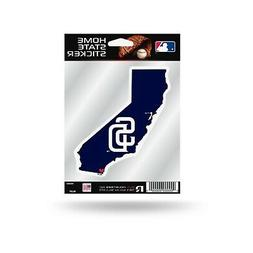 San Diego Padres Home State Sticker Flat Die Cut Decal Emble