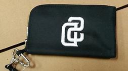 San Diego Padres ID Wallet Wristlet Cell Phone Case Charm 14