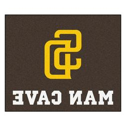 San Diego Padres Man Cave 5' X 6' Tailgater Area Rug Floor M