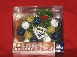 San Diego Padres Mini 3 inch Wreath Holiday Ornament with be