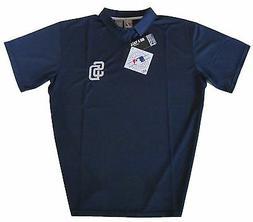 San Diego Padres Majestic MLB Men's Dri Fit Polo Shirt Big &