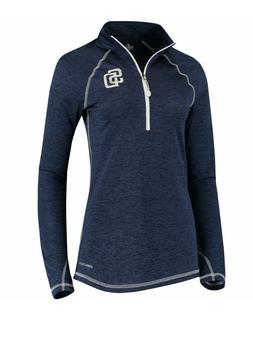 San Diego Padres Majestic MLB Women's Dont Stop Trying 1/2 Z