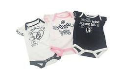 San Diego Padres Official MLB Baby Infant Size Girls 3 Piece