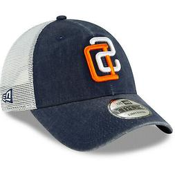 San Diego Padres SD New Era 9FORTY MLB Cooperstown Trucker S