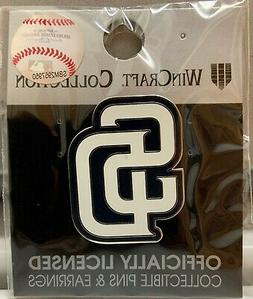 """SAN DIEGO PADRES """"SD"""" LOGO LAPEL COLLECTOR PIN NEW WINCRAFT"""