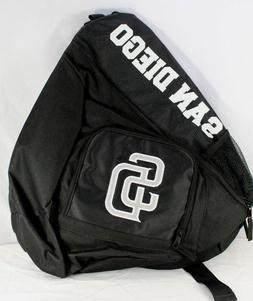 San Diego Padres Sling Backpack Teardrop Black