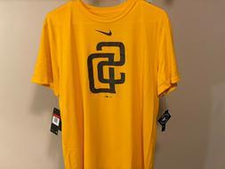 San Diego Padres Nike Team Large Logo Legend Performance T-S
