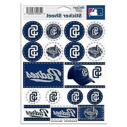San Diego Padres Vinyl Die-Cut Sticker Set / Decal Sheet *Fr