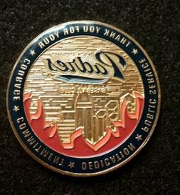 san diego padres wildfire of 2007 coin