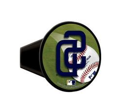 """San Diego SD Padres MLB Plastic Trailer Hitch Cover for 2"""" r"""