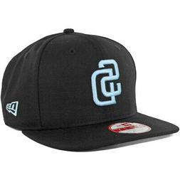 New Era SD San Diego Padres Custom Snapback Hat  9Fifty Cap