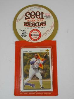 Sealed Team Set 1992 San Diego Padres 24 Cards MLB Quality B
